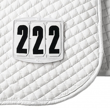 Numbers for Saddle Pad