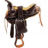 Round Skirt Western Saddle