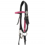Synthetic Western Bridle Think Pink