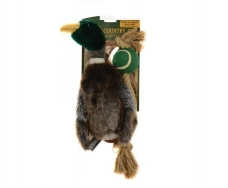 Country Dog Mallard with rope and tennis ball