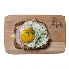 Small breakfast board - galloping horse