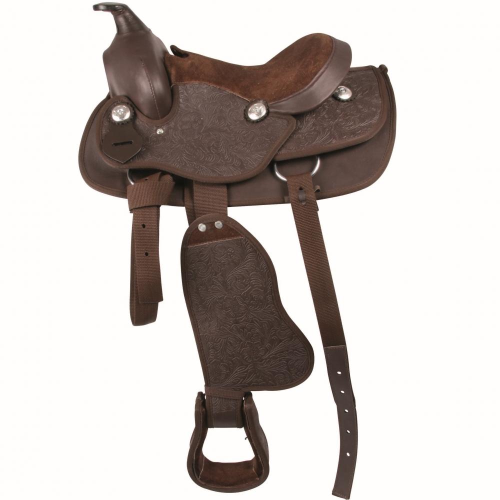 Synthetic Western Saddle, pony