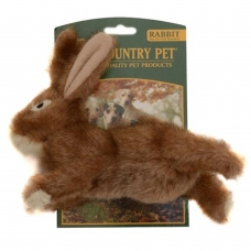 """Country Dog""  Rabbit, with squeaker"