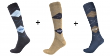 Riding socks Karo, set 3 pair