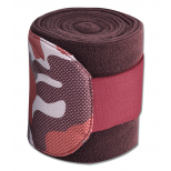 Fleece bandage Camouflage, set of 4