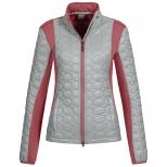 Villach mixed fabric fleece jacket