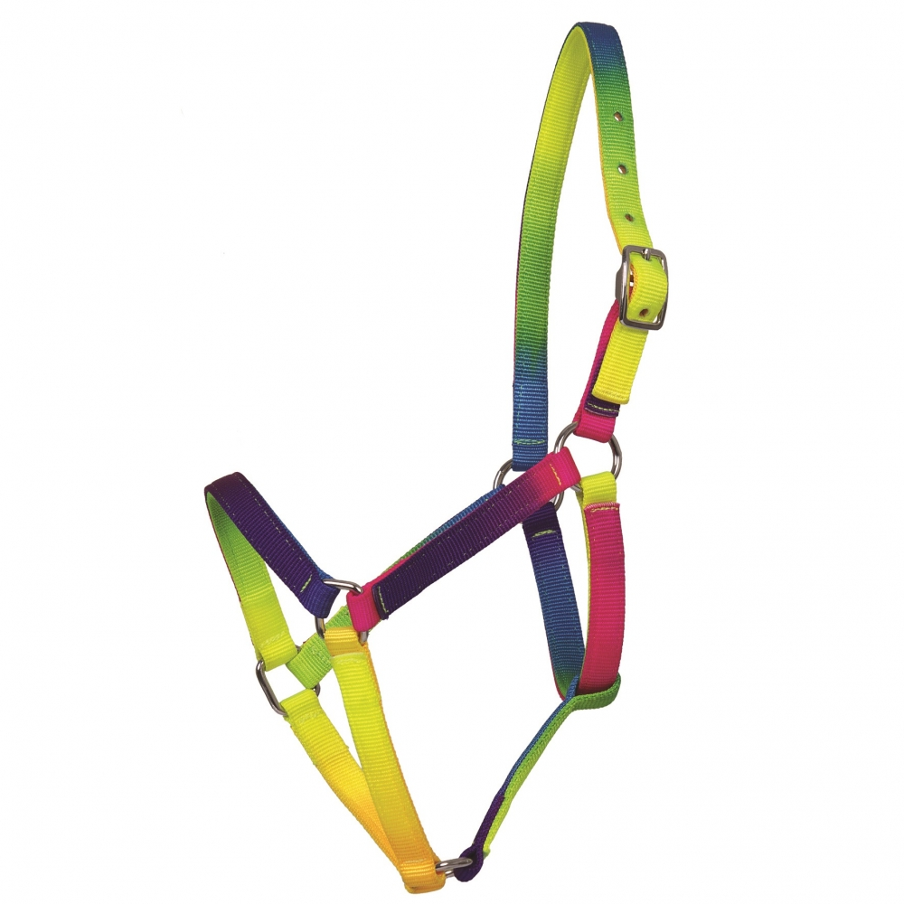 RAINBOW Coloured halter