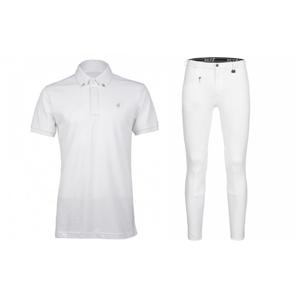 "Competition Shirt San Juan & Breeches Blanco, men""s"