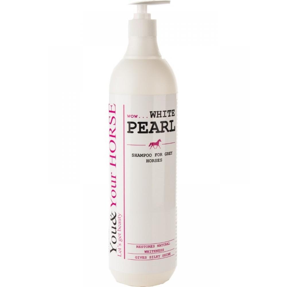 Shampoo for grey horses White Pearl