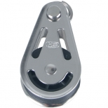 Guide pulley for double lunging, stainless steel