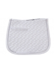 Quilted Saddle Pad in saddle shape