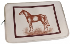 "Neoprene Laptop Bag ""Horse"""
