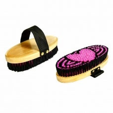 Body brush Heart