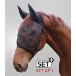 Set of 2 Basic Fly Mascs, with ear protection