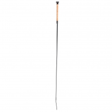 Dressage whip with cork grip handle