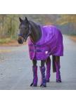 Outdoor Rug Unicorn Hearts, fleece