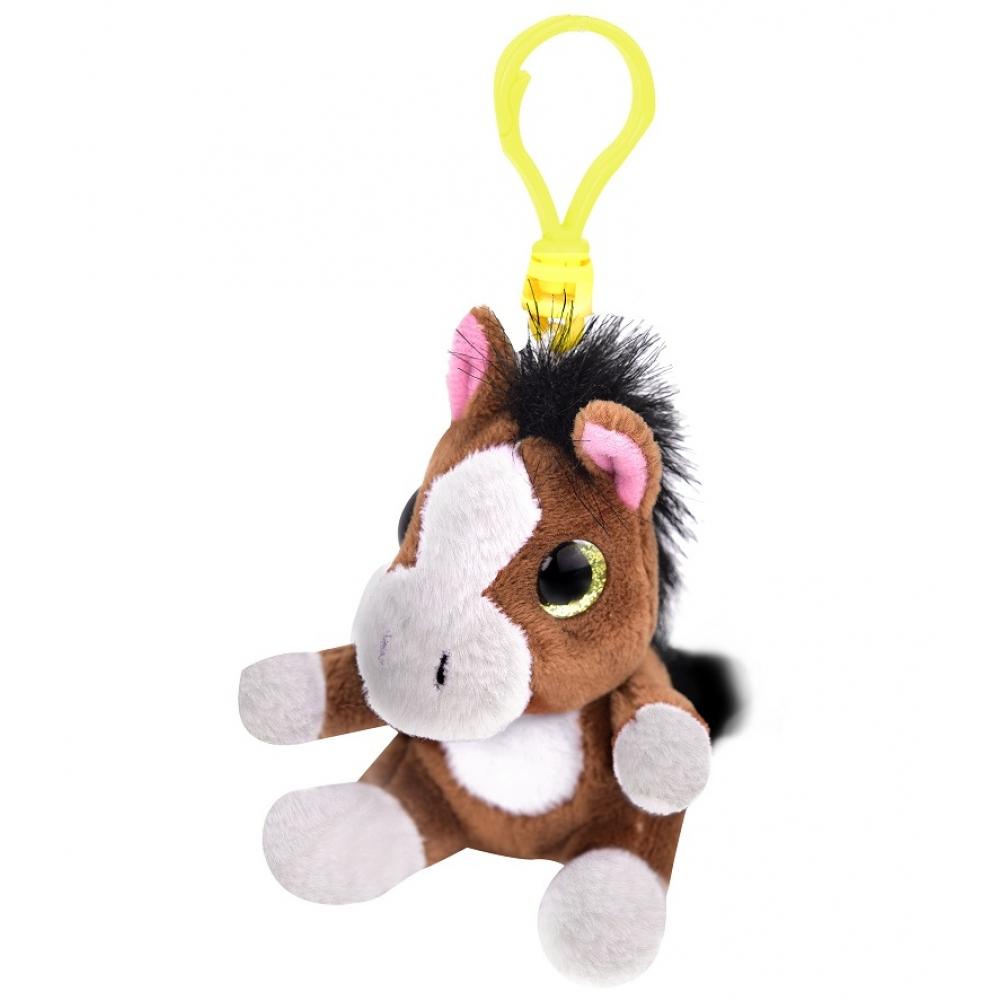 Soft toy horse bag pendant