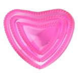 Lucky Unicorn Heart-Shaped Curry Comb