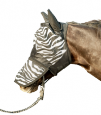 Anti-fly mask Zebra
