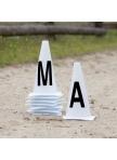 Arena marker cones, 20 x 40 m