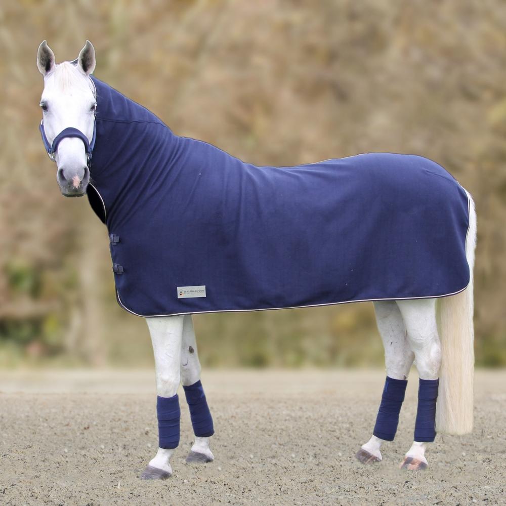Fleece rug ECONOMIC with neck rug