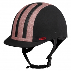 Helmet SWING H08 Black Shine Rose