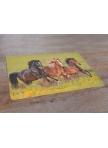 Table mats Horses