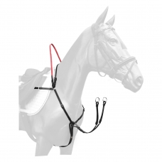 Breastplate with safety reins SECUTRUST