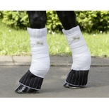 Leg pads with soft coronet protection