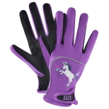 Kids riding gloves Metropolitan Unicorn