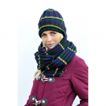 Knitted Hat & Snood