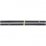 Waldhausen X-line non-slip reins with coloured stops