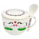"Soup Cup ""Horse Love"""