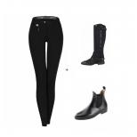 Funktion Sport Breeches & Pro Ride Ankle Boots &  Minichaps Elastic