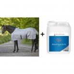Set Protection against insects, 2,5L and Anti Fly Sheet Protect