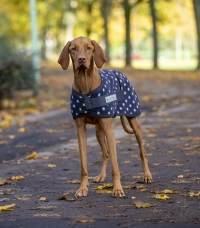 Dotty Fleece dog coat