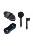 Set Flexi: Flexi Body Brush, Wonderbrush, Tail and mane comb Fair Play and Hoof Pick Brush